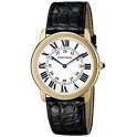 Cartier Homme 36mm Bracelet Cuir W6700455