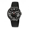 Cartier Homme 42mm Bracelet Cuir Noir WSBB0015